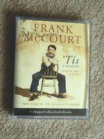 FRANK McCOURT - TIS - A MEMOIR-  AUDIO BOOK-  TALKING BOOKS      ( 2  CASSETTES)