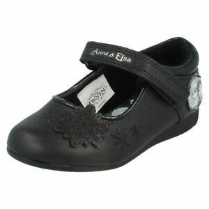 Girls Disney Frozen ANNA ELSA Ballerina Toddlers School Nursery Shoes UK Size 6