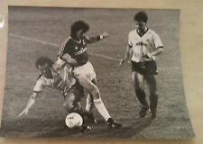 Original Press Photo: MARK STUART 1986 FMC 3rd Round Charlton v Bradford City