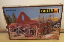 Faller H0 B - 309 Building Kit with Instructions Rough scaffolding BOXED