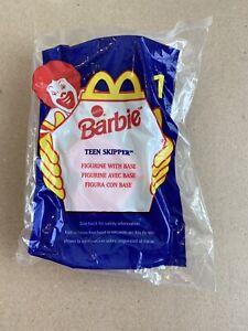 New McDonalds Barbie #1 Teen Skipper 1998
