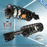 Front Pair Struts Shocks For 02-07 Saturn Vue 05-06 Equinox 06 Pontiac Torrent