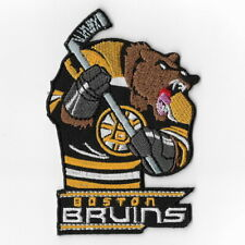 NHL Boston Bruins Mascot Iron on Patches Embroidered Patch Badge Applique Sew