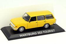 WARTBURG 353 TOURIST - MODEL DIECAST IXO /IST LEGENDARY CARS 1/43 BA39