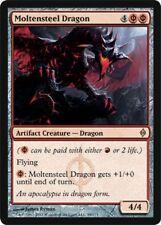 New Phyrexia ~ MOLTENSTEEL DRAGON rare Magic the Gathering card