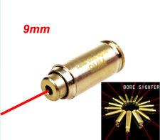 CAL 9mm Red Dot laser Bore Sighter Calibrator Cartridge For Hunting Scope Gun