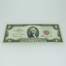 1963 A Red Seal United States Two Dollar Note 600551