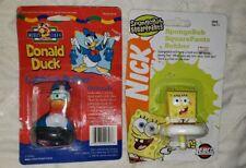 Vintage NEW Zebco Donald Duck & SpongeBob Squarepants Fishing Bobber