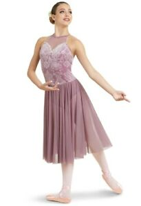 Dance Costume Child or Adult Sizes Lyrical Ballet Pointe Floral Weissman 11460