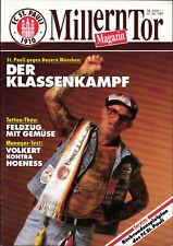 BL 89/90 FC St. Pauli - FC Bayern München, 27.10.1989, Klassenkampf-Programm