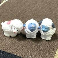3x Little People White Sheep Lambs Nativity Farm Christmas Barn Toy Fisher Price