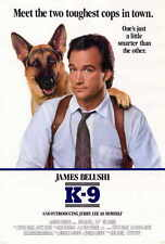 K-9 Movie POSTER 27x40 James Belushi Mel Harris Kevin Tighe Ed O'Neill Cotter