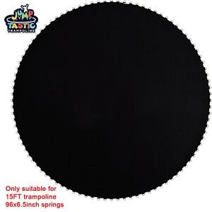 13.4ft Replacement Mat fit 15ft Trampoline 6.5in Spring 96 Rings Jumping Surface