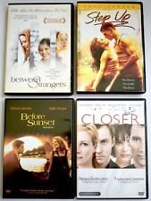 Lot 4 Dvds ~ Before Sunset ~ Between Strangers ~ Closer ~ Step Up ~ Dvd Free S&H