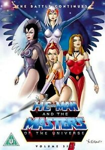 HE MAN AND THE MASTERS OF UNIVERSE VOLUME 6 ANIMATED CARTOON SERIES UK Releas R2