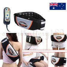Vibro Belt AB ABS Shape Slimming Vibration Body Abdominal Toning Fitness Belt AU