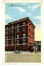 Baton Rouge LA -ISTROUMA HOTEL BUILDING- Postcard Louisiana