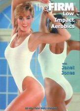 THE FIRM LOW IMPACT AEROBICS DVD JANET JONES CLASSIC ORIGINAL FIRM VOL 2 NEW
