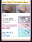 [HOLIKA HOLIKA] Pig-nose Clear Black Head EASY 3 Step Kit Korea Face Mask UK