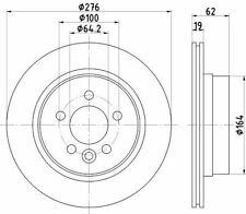 MINTEX MDC1683 BRAKE DISC Rear