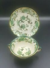 More details for mason's green chartreuse soup cup and saucer-good condition-1st quality