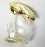 Vintage Avon Rabbit Perfume Bottle Bunny Cologne Container Easter Decor Empty