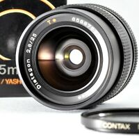 CONTAX 25mm f/2.8 AEG Carl Zeiss Distagon T* Manual Lens in Box from Japan Exc