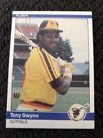1984 Fleer Tony Gwynn #301 San Diego Padres Baseball Card. Centered Nicely