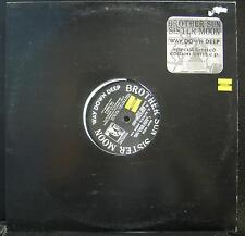 BROTHER SUN SISTER MOON way down deep EP VG+ TRG 89356 Trip Hop Vinyl