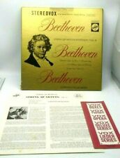 BEETHOVEN Complete String Quartet Vol II Stereovox 1962 Box Set of 3 W Paperwork