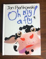 OH MY! a FLY! Jan Pienkowski Pop-Up book 1989 VGC