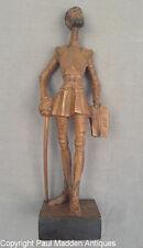 Antique Carved Figure - Don Quixote