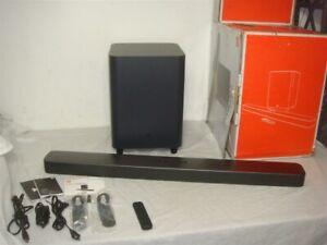 JBL BAR 5.1 SURROUND SOUND SOUNDBAR & SUBWOOFER SYSTEM WITH REMOTE