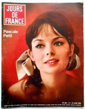 ►JDF 502/1964-PASCALE PETIT-JOHNNY HALLYDAY-SYLVIE VARTAN-FARAH DIBA-CH.TRENET..