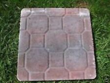 "4 paver molds stepping stone walkway heavy duty plastic molds 16"" x  2"" thick"