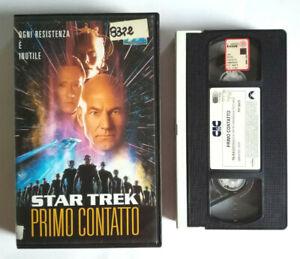 VHS Film Ita Fantascienza STAR TREK Primo Contatto VIII CIC Video no dvd cd (V0)