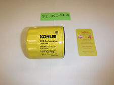 GENUINE KOHLER PART # 52 050 02-S1 OIL FILTER; 52 050 02-S KH-52-050-02 OEM