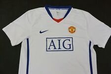 2008-09 nike Manchester United Away Shirt SIZE Youth XL.Boys (XS adults)
