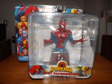 MARVEL HEROES, SPIDER-MAN BUST PAPERWEIGHT, NEW IN PACKAGE, 2006