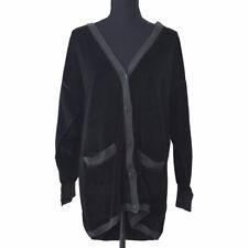 SONIA RYKIEL Long Sleeve Tops Cardigan Black AK31914e