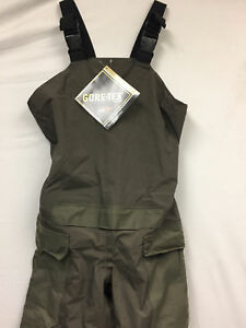 US Military Gore-tex Kokatat Bib Overalls Goretex Dry Pants Size Small