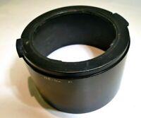 Minolta 55mm Lens Hood snap on for 70-210mm f4 MD Rokkor