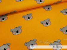 """Jersey-Stoff Baby Kinder Koala Koalabär Junge gelb  """"C. all over Konrad #honey."""""""