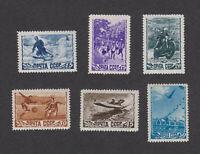 Russia USSR Sc# 1253a-1257 MNH OG set 1948
