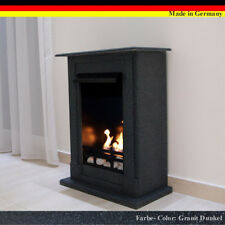 Ethanol Firegel Fireplace Cheminee  Madrid Premium Granite black + 21 piece set