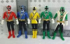Samurai Sentai Shinkenger Power Rangers Shinken Red Blue Yellow Super Green 2009