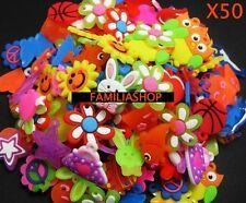 Lot de 50 pendentif pour bracelet rainbow loom band kit charm charms