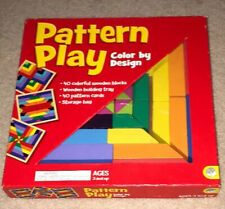 MindWare Pattern Play 40 colored block replication game color by design