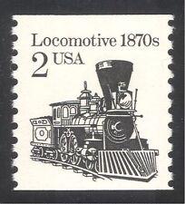USA 1985 Locomotiva a Vapore Motore// Treni/Ferrovia/Ferrovia/TRASPORTO BOBINA 1 V (n25159)