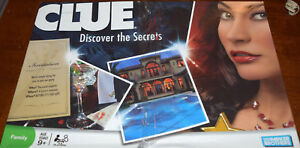 Clue Discover The Secrets Board Game Replacement Parts & Pieces 2008 Parker Bros